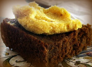 Molasses Bread with Spicy Squash Butter